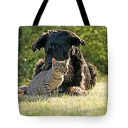 Friendships In The Animal World Is Possible Tote Bag