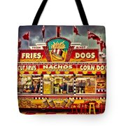 Fries Nachos Dogs Tote Bag