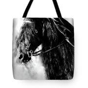 Friesian Horse Beauty Tote Bag