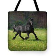 Friesian Power Tote Bag