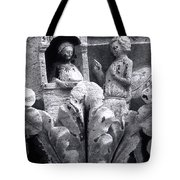 Frieze Work In Black And White  Tote Bag