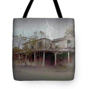 Frightening Lightning Tote Bag