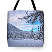 Frigid Beauty Tote Bag