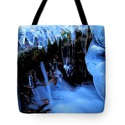 Frigid Flow Tote Bag