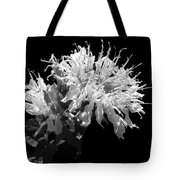 Frilly Flower Tote Bag