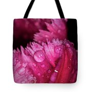 Fringed Tulip Tote Bag