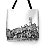 Steam Driven Locomotive Tote Bag