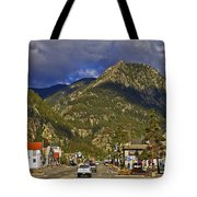 Frisco By The Mountain Tote Bag