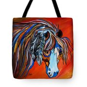 Frisco War Horse Tote Bag