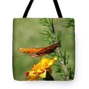 Fritillary Flitterby Tote Bag