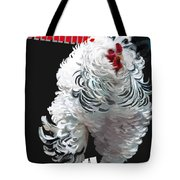 Frizzled Brahma T-shirt Print Tote Bag