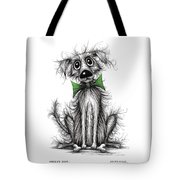 Frizzy Dog Tote Bag