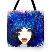Fro Blues Tote Bag
