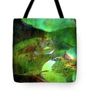 Frog And Lily Pad 3076 Idp_2 Tote Bag