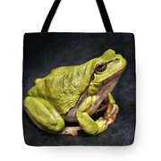 Frog - Id 16236-105016-7750 Tote Bag