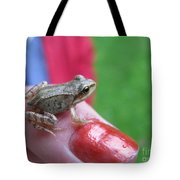 Frog The Prince Tote Bag