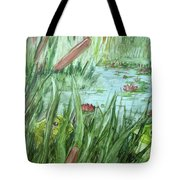 Frog Went A-courtin Tote Bag