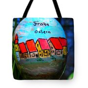 Frohe Ostern Tote Bag