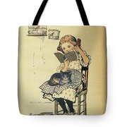 Frolic For Fun Girl And Bird Tote Bag