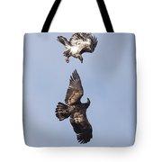Frolicking Eagles Tote Bag