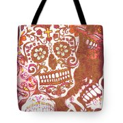 From A Tribal Design Tote Bag