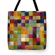 From Fence To Feast Panel Sketch Tote Bag