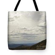 From Heaven To The Mountains Tote Bag