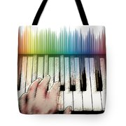 From Keyboard To Keyboard Tote Bag