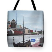 From Longboats To Pyramids Tote Bag