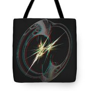 From Nothing - Use Red-cyan 3d Glasses Tote Bag