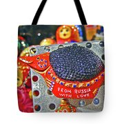 From Russia With Love. Tote Bag