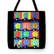 Trump From Russia With Love Tote Bag