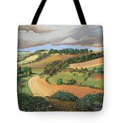 From Solsbury Hill Tote Bag by Anna Teasdale