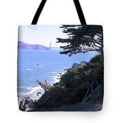 From The Cliff Of Lands' End 04 Tote Bag