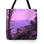 From The Cliff Of  Lands End 06 Tote Bag