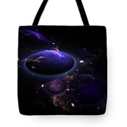From The Depths Of Space Tote Bag