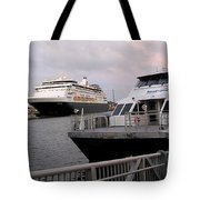 From The Ferry Dock Tote Bag