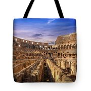 From The Floor Of The Colosseum Tote Bag