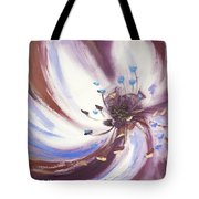 From The Heart Of A Flower Brown 2 Tote Bag