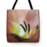From The Heart Of A Flower Brown 3 Tote Bag