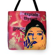 From The Margins Tote Bag