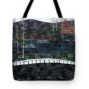 From The Road #24 Tote Bag