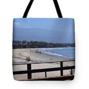 From The Santa Barbara Pier Tote Bag