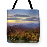 From The Top Of Brasstown Bald Tote Bag