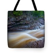 From The Top Of Temperence River Gorge Tote Bag
