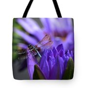 From The Water Lily Garden Tote Bag