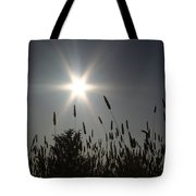From Where I Sit Tote Bag