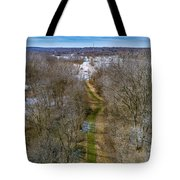From Woods To Snow Tote Bag