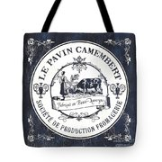 Fromage Label 1 Tote Bag by Debbie DeWitt