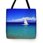 Maui Hawaii Frommer's 2000 Maui Cover Tote Bag